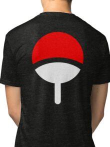 Uchiha Clan symbol Tri-blend T-Shirt