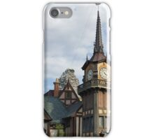 Matterhorn from Fantasyland iPhone Case/Skin