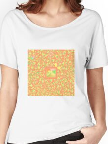 Abstract 0041b Women's Relaxed Fit T-Shirt