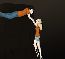 Percy and Annabeth: the fall by Hysope