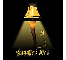 Support Art Photographic Print