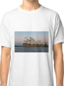 Sydney Opera House at the sunsets behind me Classic T-Shirt