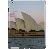 Sydney Opera House at the sunsets behind me iPad Case/Skin