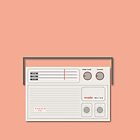 Murphy Melina Radio from 1970s by OTAS Store