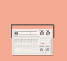 Murphy Melina Radio from 1970s by Locally Store