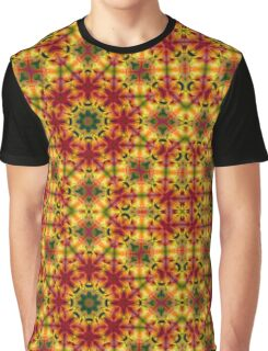 Sunny Bright psychedelic pattern Graphic T-Shirt