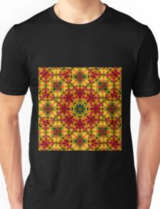 Sunny Bright psychedelic pattern Unisex T-Shirt