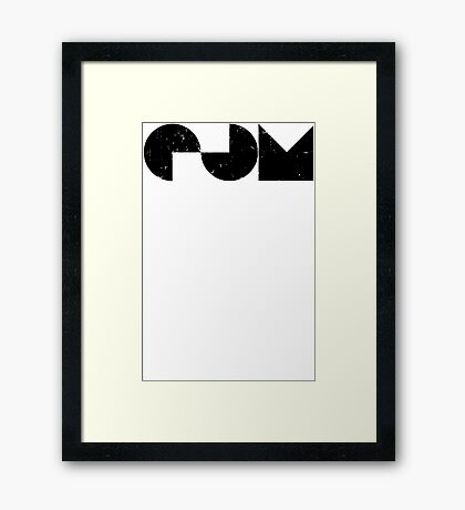 EDM electric dance music Framed Print