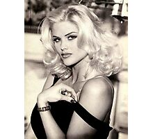 anna nicole smith guess ad Photographic Print