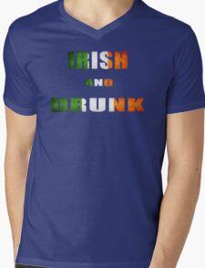 irish and drunk Mens V-Neck T-Shirt