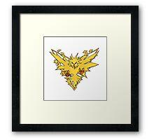 Instinct Emblem Framed Print