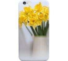 Daffodils in Jug iPhone Case/Skin