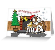 Gypsy Cob Christmas Card 3 Greeting Card