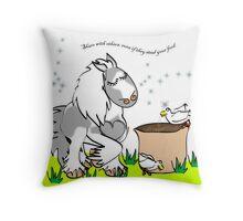 Gypsy Cushion Throw Pillow
