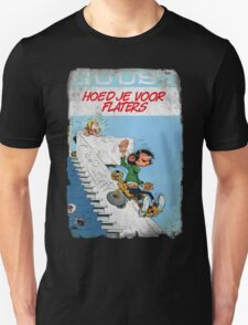 Vintage Style : Hoed Je Voor Flaters Unisex T-Shirt