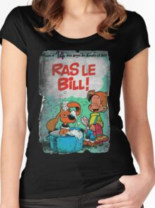 Vintage Style : Ras Le Bill ! Women's Fitted Scoop T-Shirt