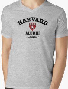 Harvard Alumni - Just Kidding! Mens V-Neck T-Shirt