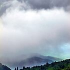 Storm Over Looking Glass Rock by Tibby Steedly