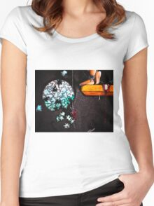 Close to The Edge... Women's Fitted Scoop T-Shirt