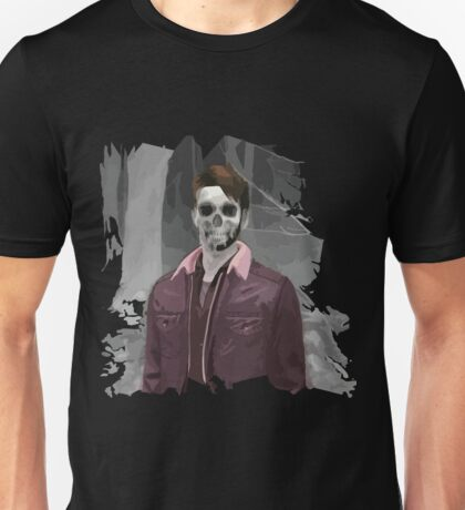 Wade Thornton Skeletal with background Unisex T-Shirt