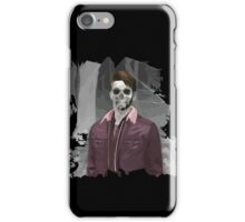 Wade Thornton Skeletal with background iPhone Case/Skin