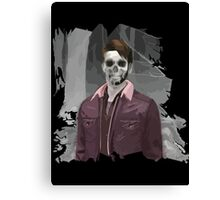 Wade Thornton Skeletal with background Canvas Print