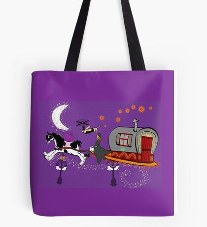 Gypsy Time Travellers Tote Bag