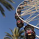 Ferris Wheel In The Sky by DARRIN ALDRIDGE