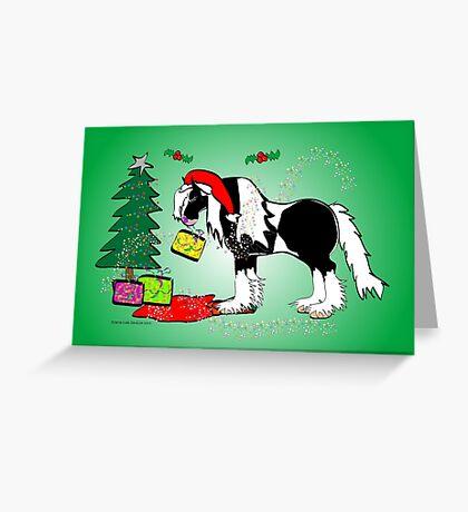 Gypsy Cob Christmas Card 6 Greeting Card