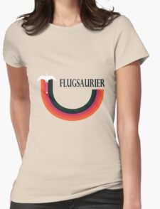 Flugsaurier Womens Fitted T-Shirt