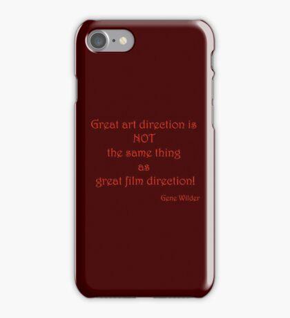 Great Art, Great Film - Gene Wilder iPhone Case/Skin