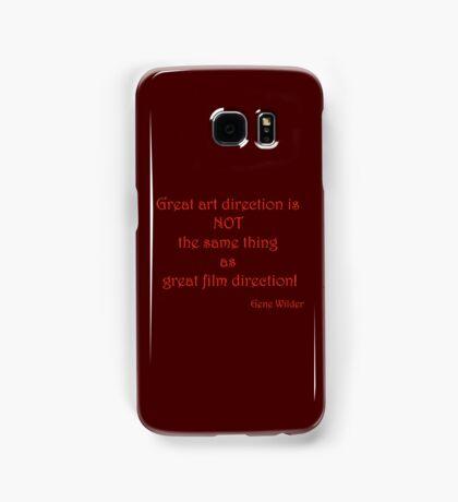 Great Art, Great Film - Gene Wilder Samsung Galaxy Case/Skin