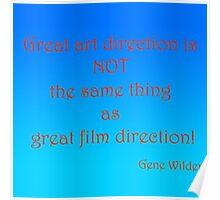 Great Art, Great Film - Gene Wilder Poster