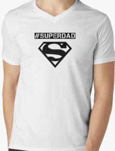 #superdad Mens V-Neck T-Shirt
