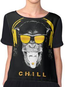 Chill Monkey Chiffon Top