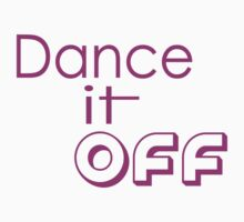 Dance it Off One Piece - Short Sleeve