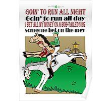 Bob Tailed Nag Poster