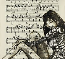 I Wish the Music In My Head Would Slow Down by Sara Riches