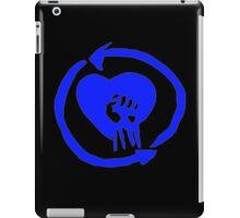 Rise Against Heart Fist Clean Look Blue iPad Case/Skin