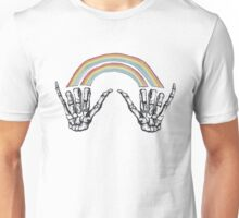 1D Louis Tomlinson Rainbow Hands Tattoo Unisex T-Shirt
