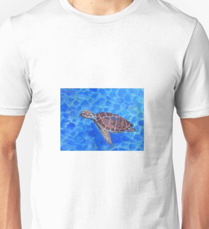 Hawksbill Turtle by Liz H Lovell Unisex T-Shirt