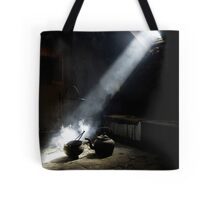 Light on the Past Tote Bag