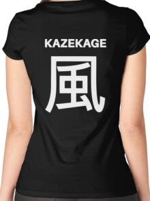 Kage Squad Jersey Kazekage Women's Fitted Scoop T-Shirt