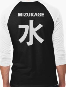 Kage Squad Jersey Mizukage Men's Baseball ¾ T-Shirt