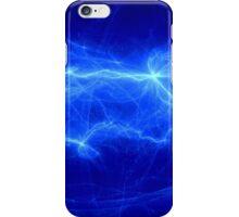 Fantasy blue lightning iPhone Case/Skin