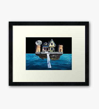Floatopia Framed Print