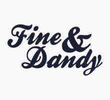 Fine & Dandy Blue Kids Tee