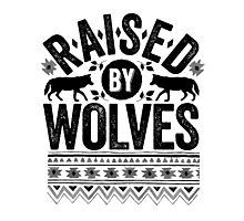 Raised By Wolves {Black + White} Photographic Print