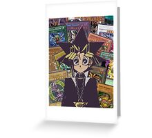 Yugi The Legend  Greeting Card