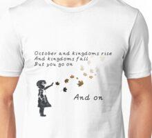 u2 october for white color Unisex T-Shirt